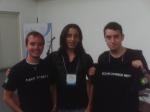 Luke Crouch, Rodrigo e eu.
